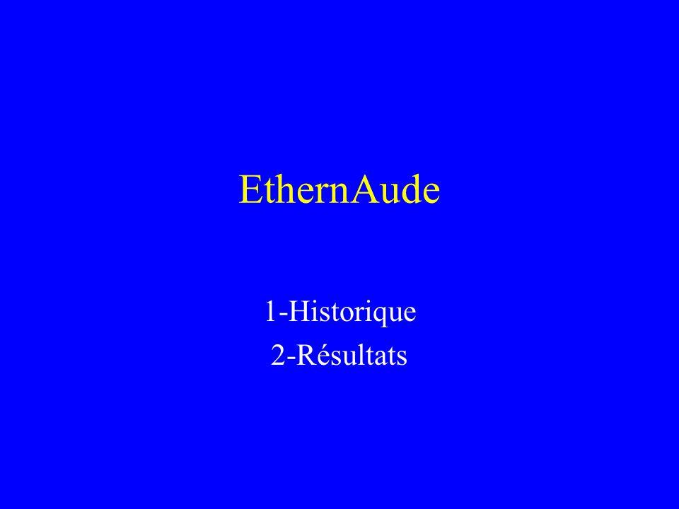 EthernAude 1-Historique 2-Résultats 3-LI2C