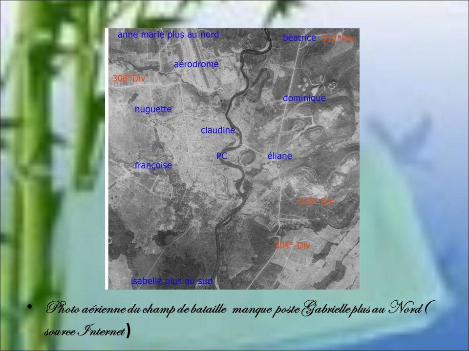 La chute de Béatrice et de Gabrielle L'attaque débute dans la soirée du samedi 13 mars 1954 par une violence attaque vietminh contre Béatrice et Gabri