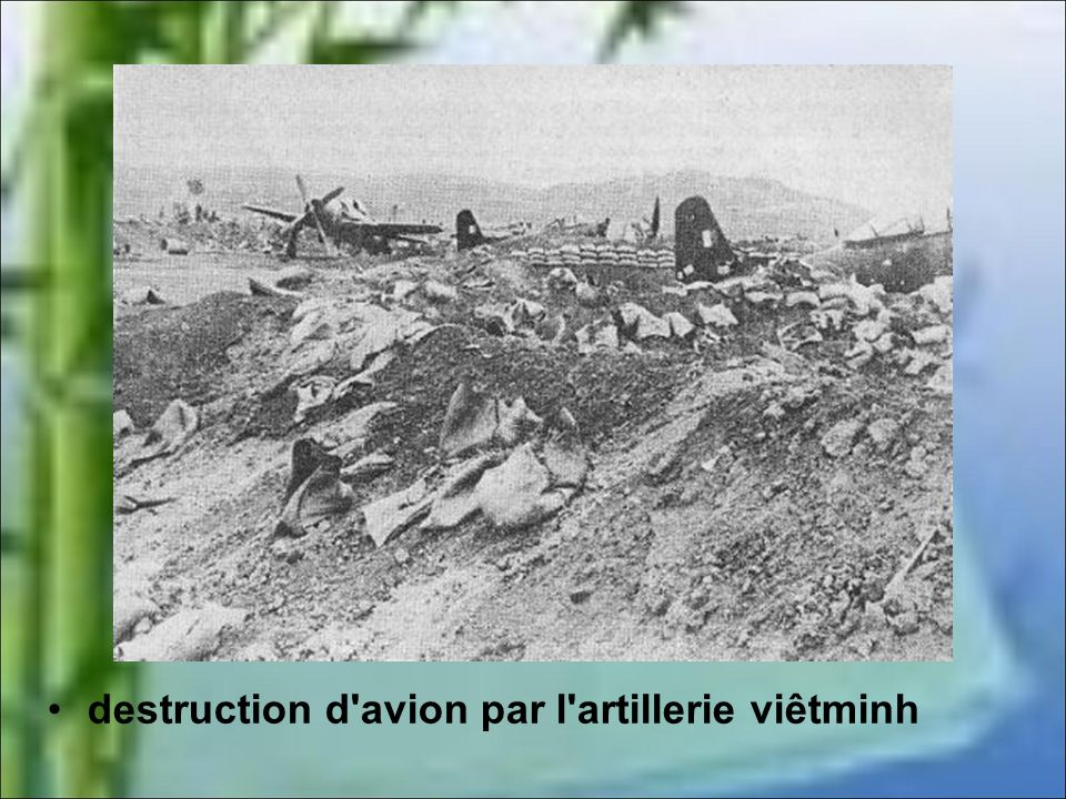 Lintensification de la bataille Le 16 mars, Bigeard et le 6ème BPC sont largués sur DBP. Lartillerie ennemie continue son oeuvre de destruction ce qui