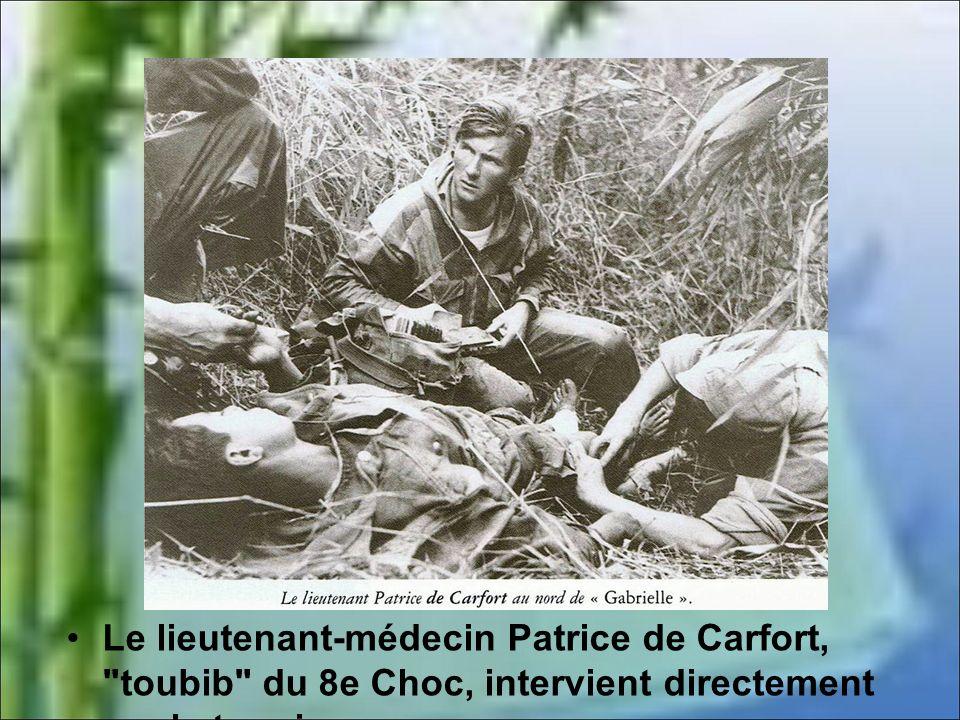 le 14 avril le Viêtminh occupe tout le nord de la cuvette, dont un tiers de la piste d'aviation. De jour comme de nuit, attaques et contre-attaques se