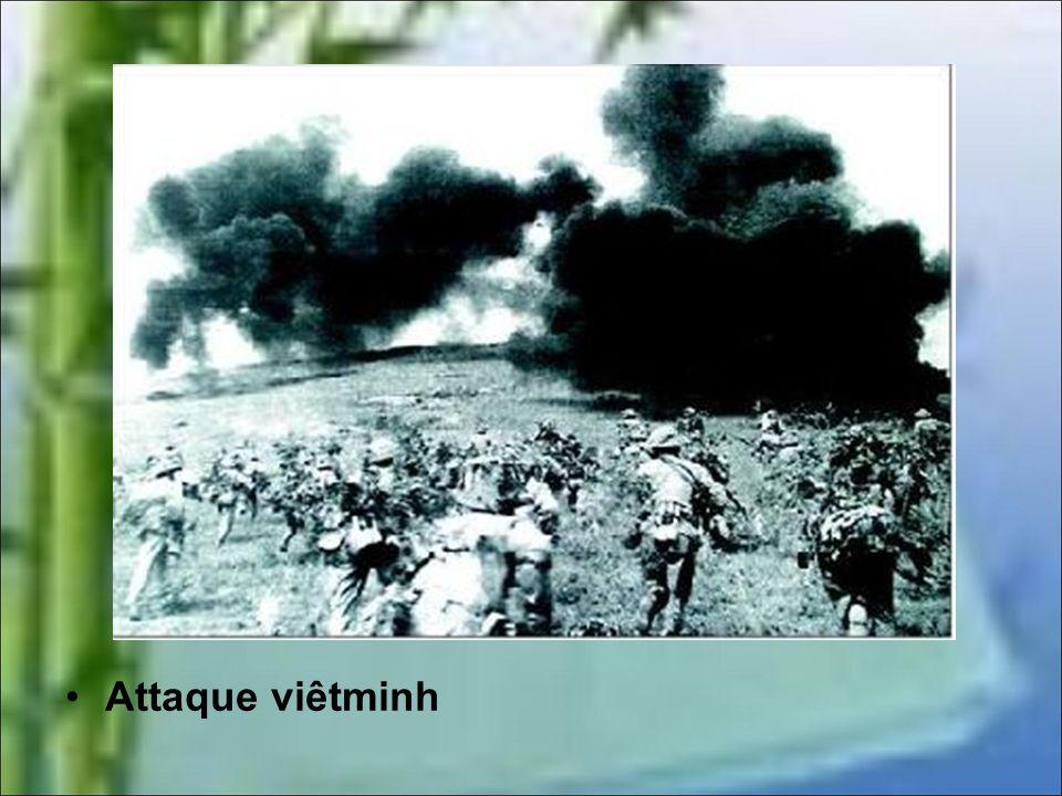 LAssaut final 2 au 8 mai 1954 Avant de procéder à un assaut final Giap intensifie les bombardements avec des orgues de Staline qui provoquent d'énorme