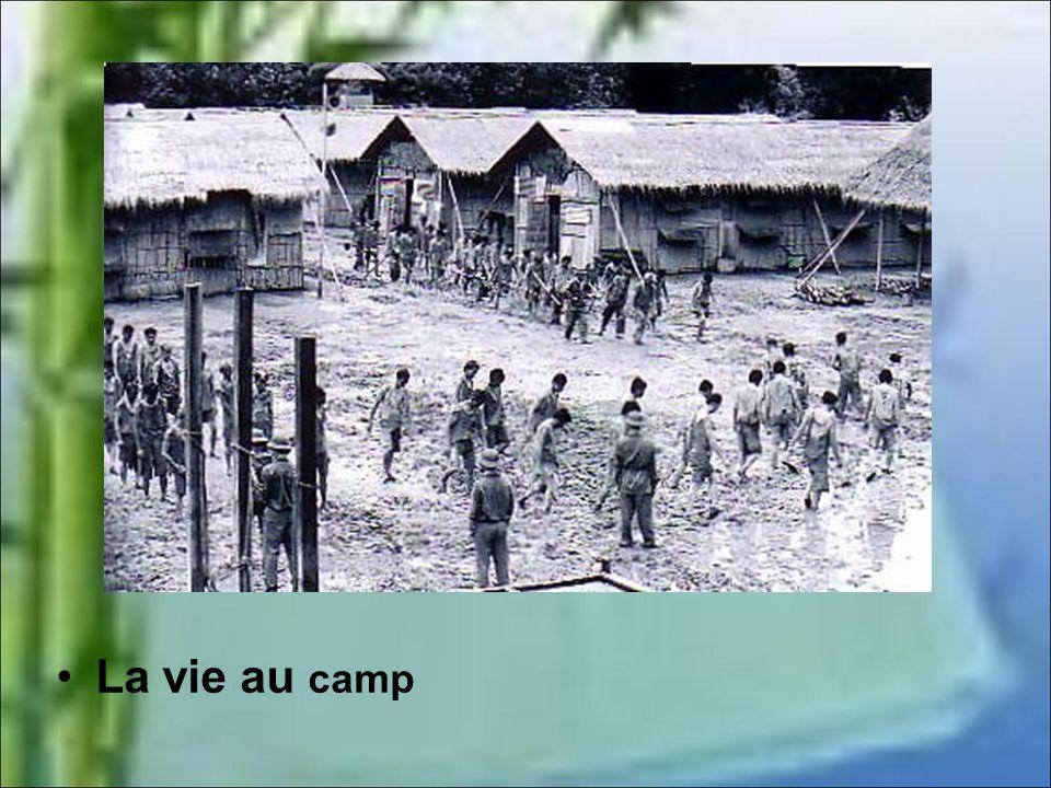 La vie en camps de rééducation Là un autre calvaire attendait les prisonniers. Ceux qui auront le mieux survécu étaient les blessés lourds car ils neu
