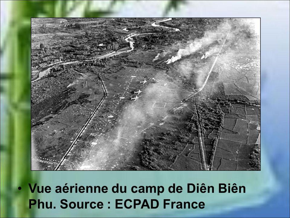 Vue aérienne du camp de Diên Biên Phu. Source : ECPAD France