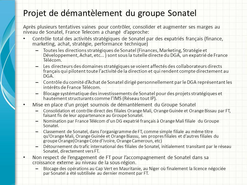 Concurrence déloyale – FT concurrence Sonatel jusque dans son propre marché: OBS France est entrain de démarcher des entreprises sénégalaises afin de leur vendre leur propre solution au détriment de celles de Sonatel.