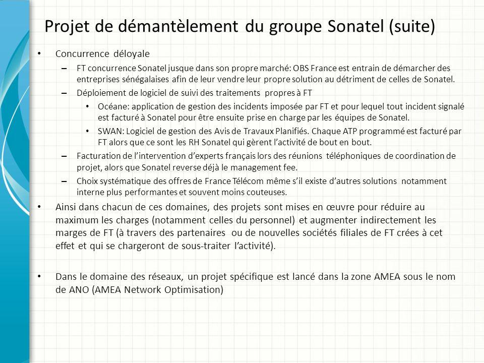 Concurrence déloyale – FT concurrence Sonatel jusque dans son propre marché: OBS France est entrain de démarcher des entreprises sénégalaises afin de