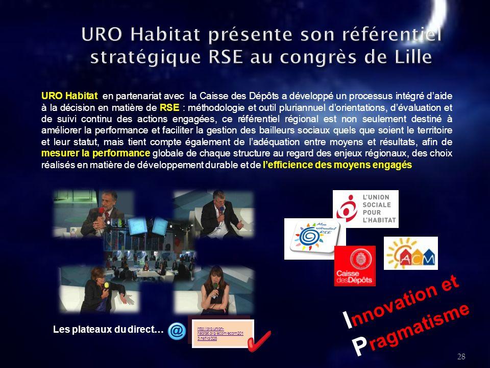 29 URO Habitat et l ensemble des Bailleurs Sociaux du Languedoc-Roussillon ont créé : «Dust et Dusty», deux petits personnages, mascottes du Développement Durable dans l habitat social.