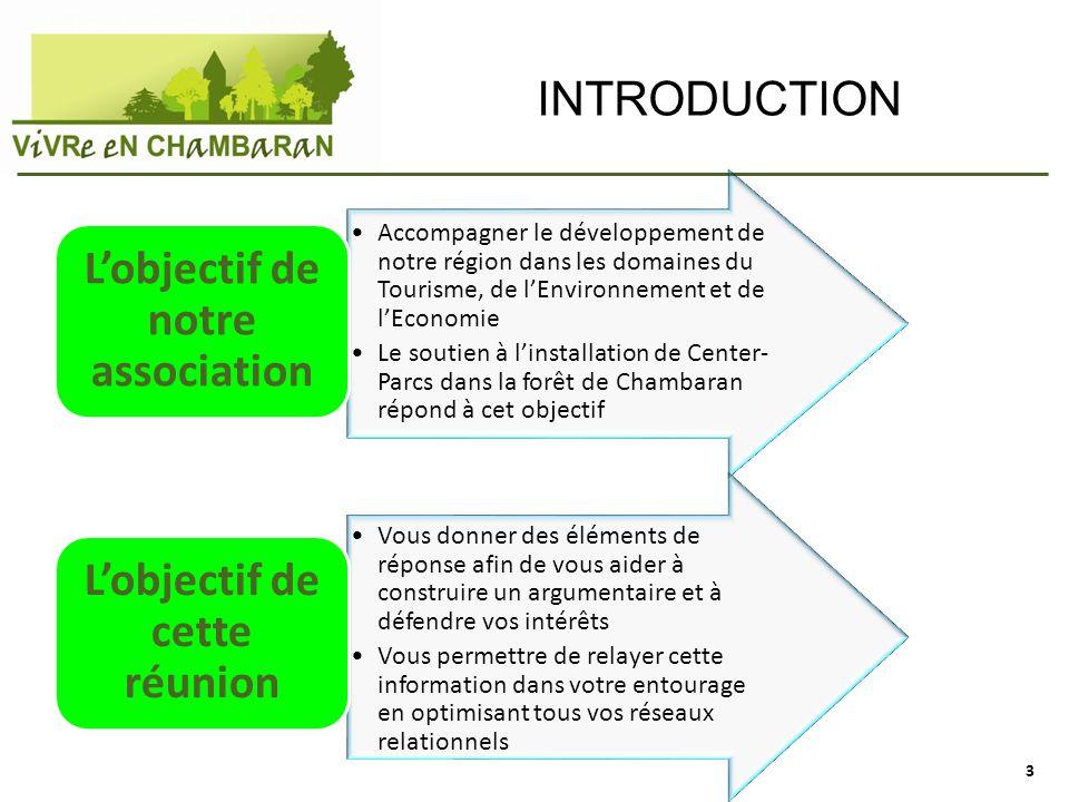 INTRODUCTION Accompagner le développement de notre région dans les domaines du Tourisme, de lEnvironnement et de lEconomie Le soutien à linstallation