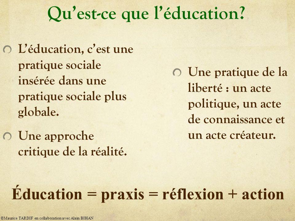 Quest-ce que léducation.