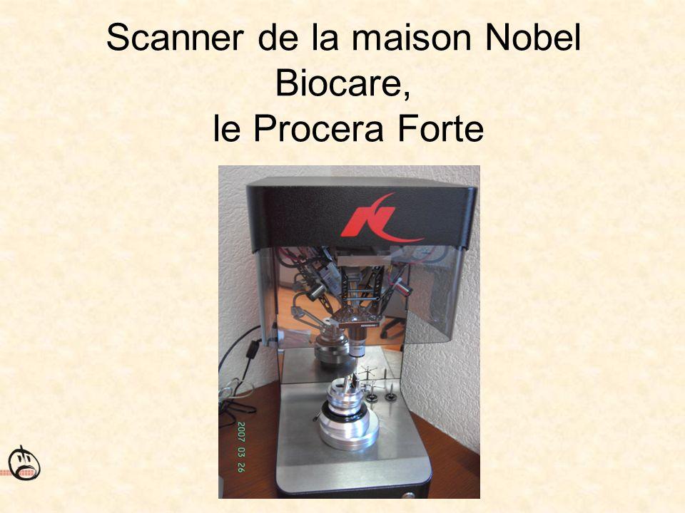 Scanner de la maison Nobel Biocare, le Procera Forte