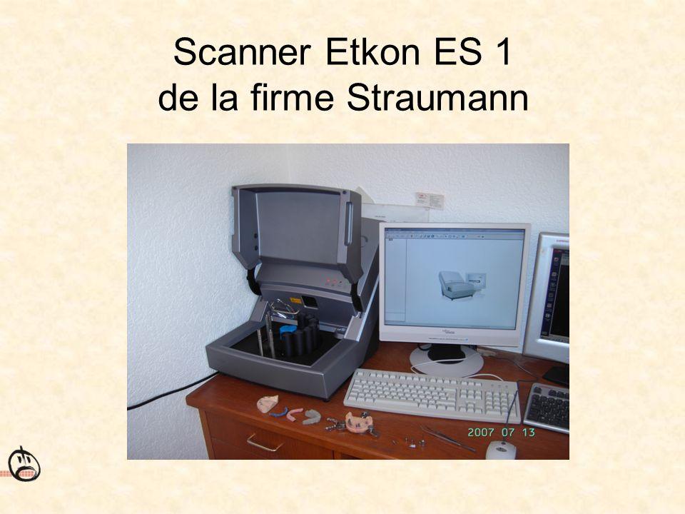 Scanner Etkon ES 1 de la firme Straumann