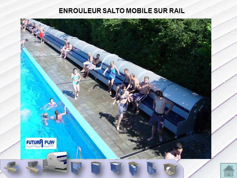 ENROULEUR SALTO MOBILE SUR RAIL