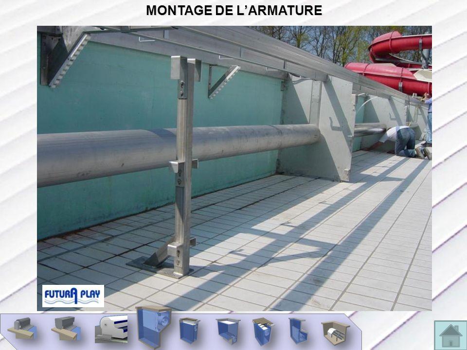 MONTAGE DE LARMATURE