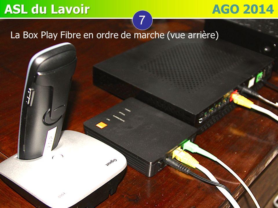 ASL du Lavoir ASL du Lavoir AGO 2014 7 La Box Play Fibre en ordre de marche (vue arrière)