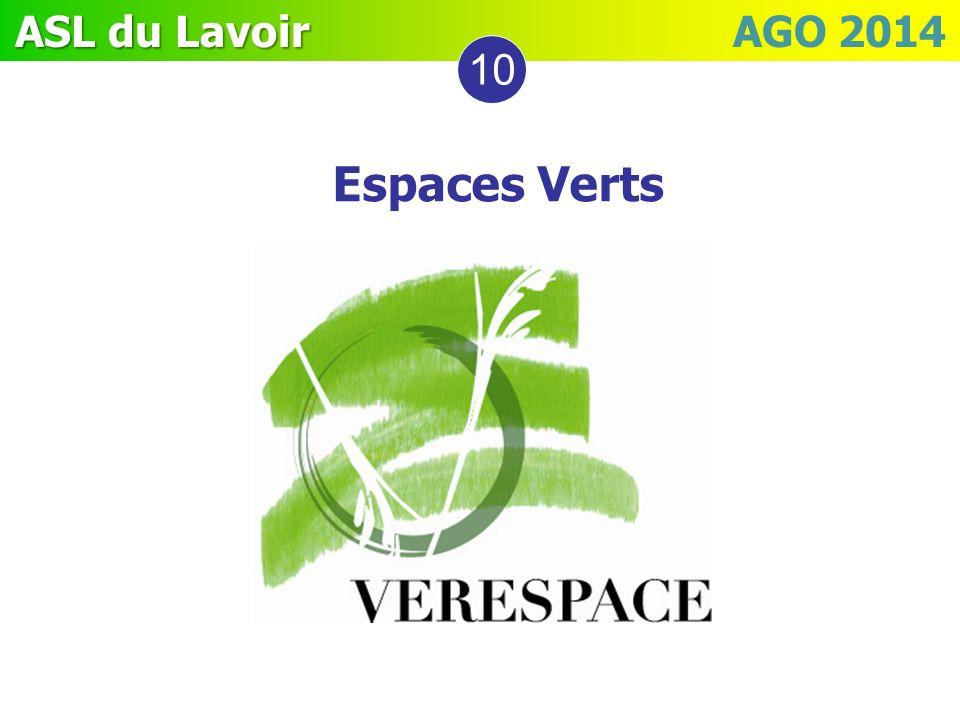 10 Espaces Verts