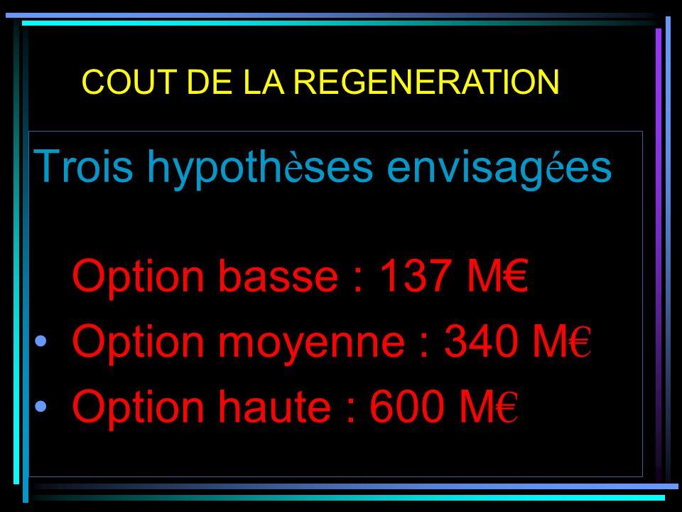 BILAN DE L ACTION DU CONSEIL REGIONAL CPER : 237 M dont 47,6 M de la région : -10 M sur le Clermont/Lyon -40 M prévus pour des travaux sur Clermont/Le Puy -40 M sur Clermont/Aurillac