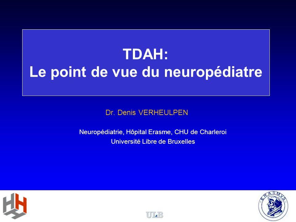 Le modèle neuropsychologique du TDAH Mémoire de travail = quantité dinformations qui peuvent être traitées au même moment Mémoire de travail limitée Mémoire de travail saturée dinformations non filtrées