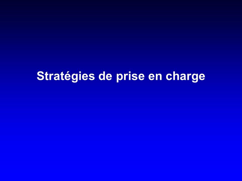 Stratégies de prise en charge