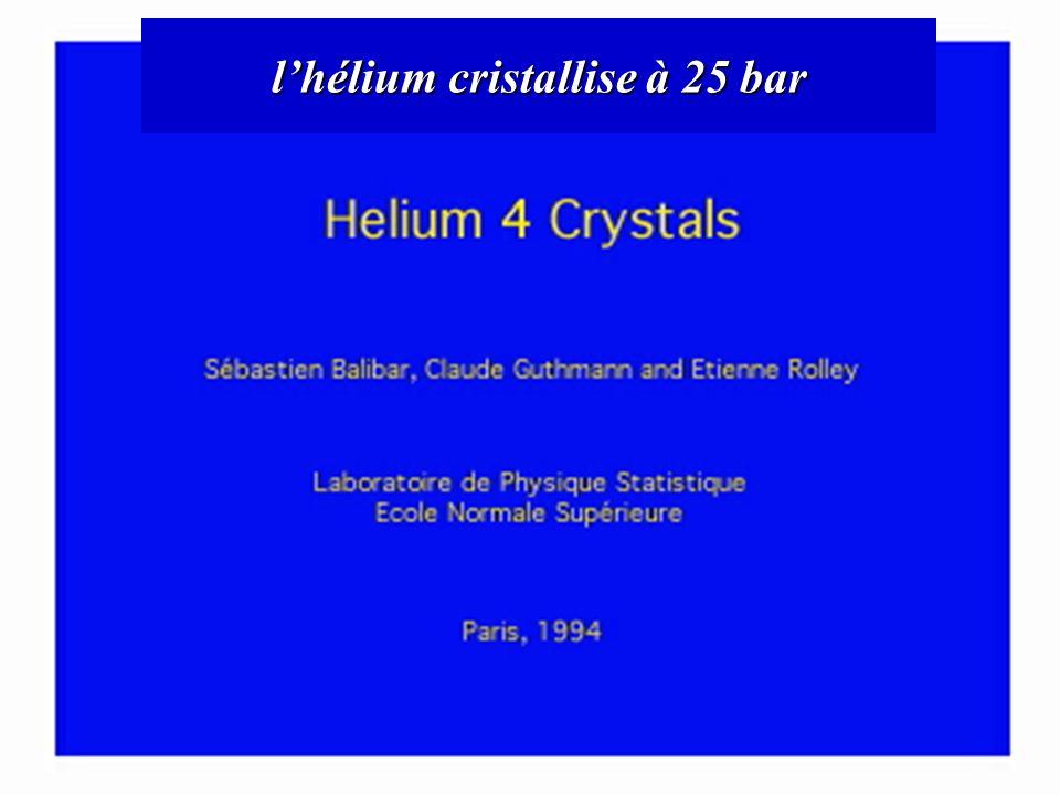 lhélium cristallise à 25 bar