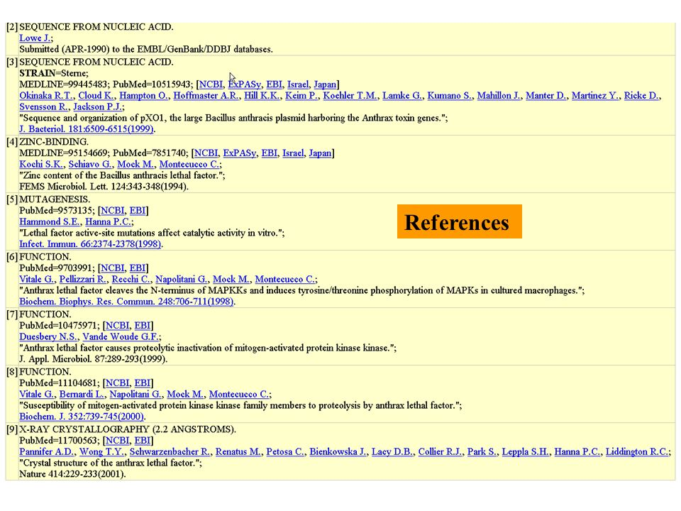 Comments annotations