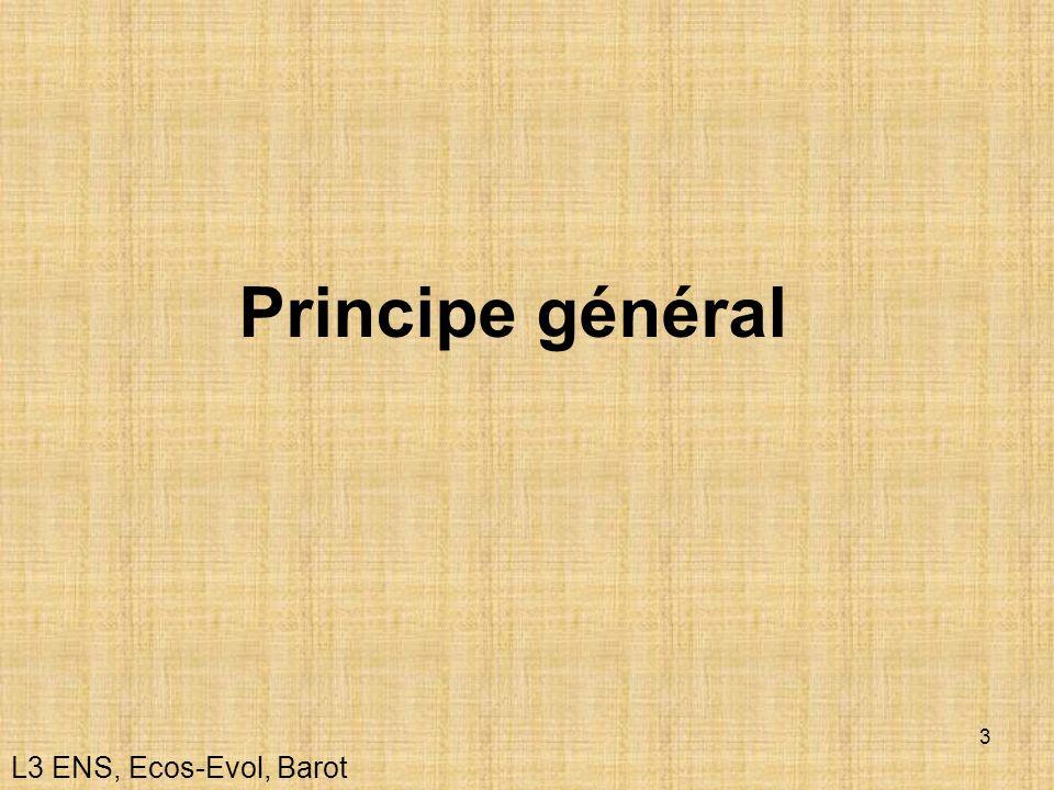 3 Principe général L3 ENS, Ecos-Evol, Barot