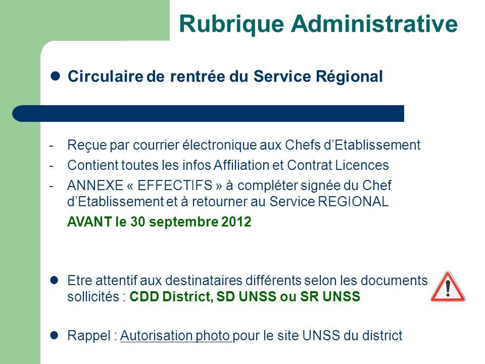 Rubrique Sportive District Bilan Pratiques 2011-12 bilan 2011-12 rappel 2010-11