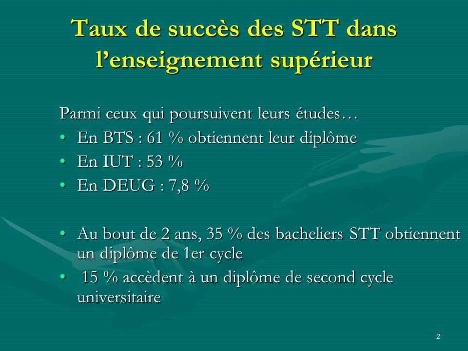 1 Terminale marketing STG le programme