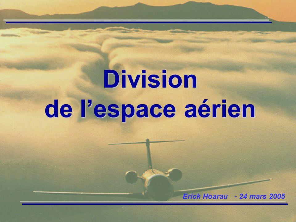 Division de lespace aérien Erick Hoarau - 24 mars 2005