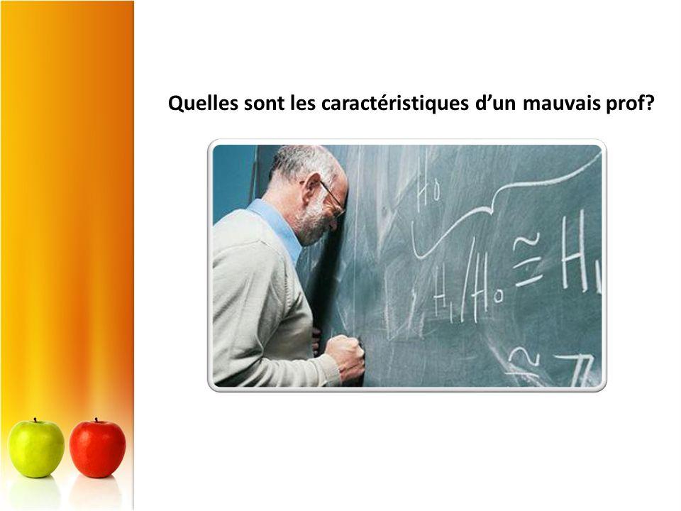Quelles sont les qualités dun bon enseignant?