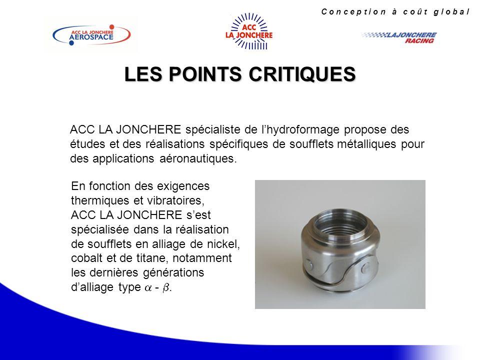 TYPE D APPAREILS CONSTRUITS EN ALLIAGE DE NICKEL - Tuyauteries aéronautiques au niveau moteur et avion.