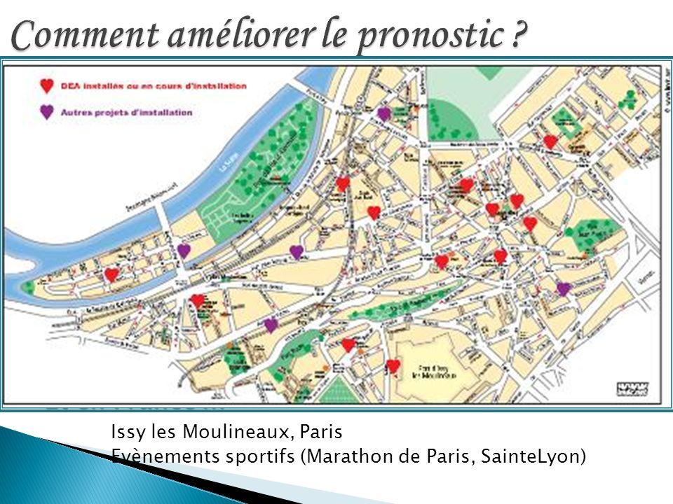 DSA utilisés par le public Hallstrom DSA utilisés par le public Hallstrom NEJM 2004; 351: 637-46 Et en France … Issy les Moulineaux, Paris Evènements