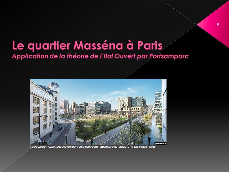 13 ème arrondissement de Paris 3 quartiers composant la ZAC Paris Rive Gauche Un des sous quartiers du quartier Masséna Masséna Nord ou Masséna – Grands Moulins 10 Source: http://www.paris-en-photos.fr/arrondissements-paris/ Source: http://projets-architecte-urbanisme.fr/zac-rive-gauche-portzamparc/paris-zac-rive-gauche- secteurs-plan/