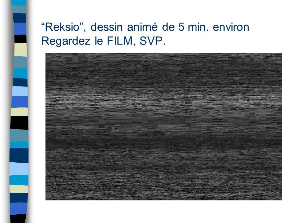 Tâche choisie pour les raisons suivanates : n le film muet permet de garder constant lhistoire sans en donner une version préalable dans une langue do