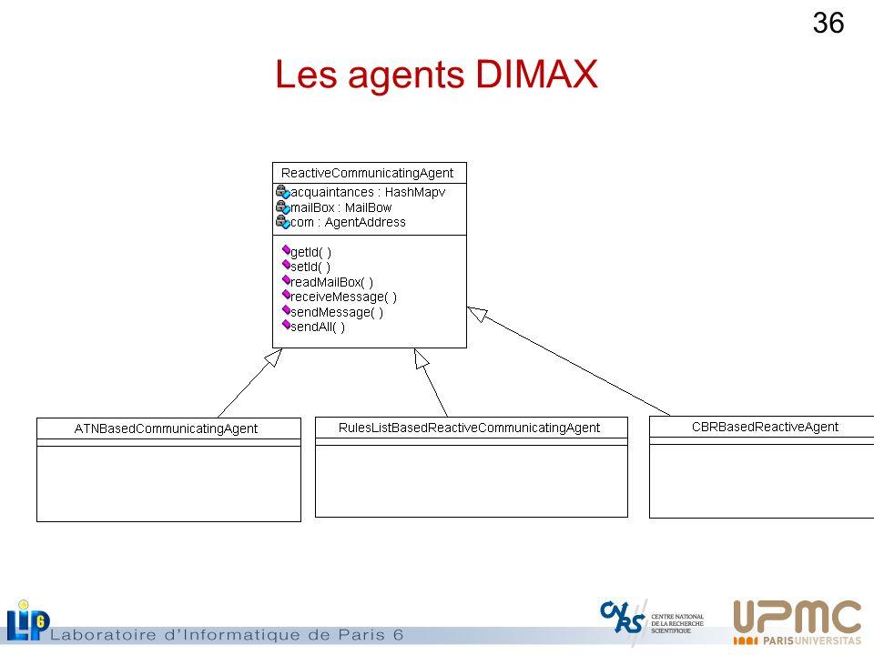 36 Les agents DIMAX