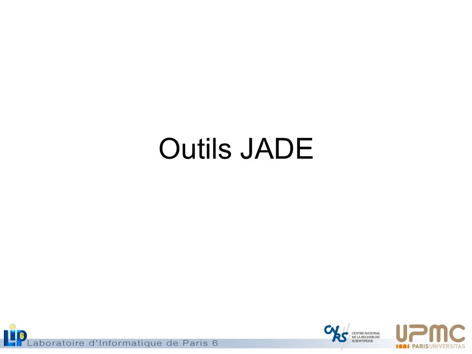 Outils JADE