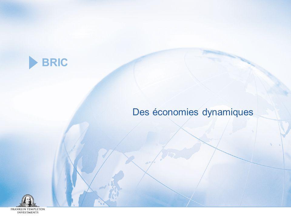 BRIC Des économies dynamiques