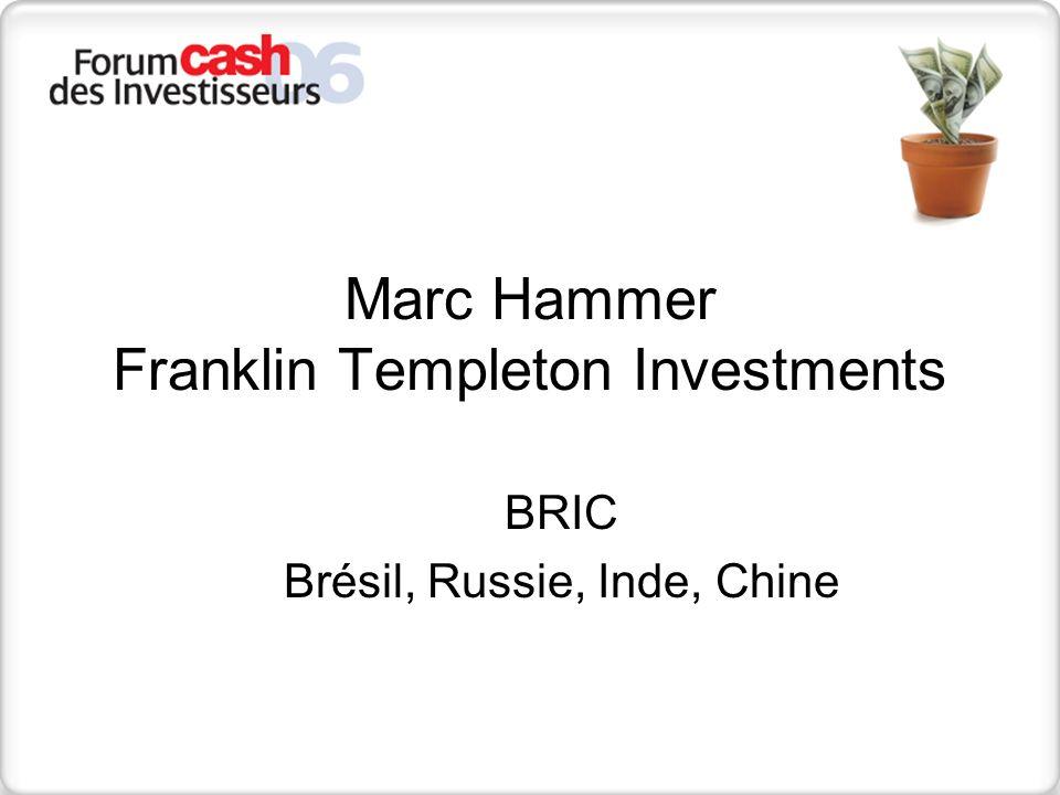 Franklin Templeton Investments Source: Factset; Merrill Lynch Nombre de nouveaux abonnés en téléphonie mobile 9899000102030405