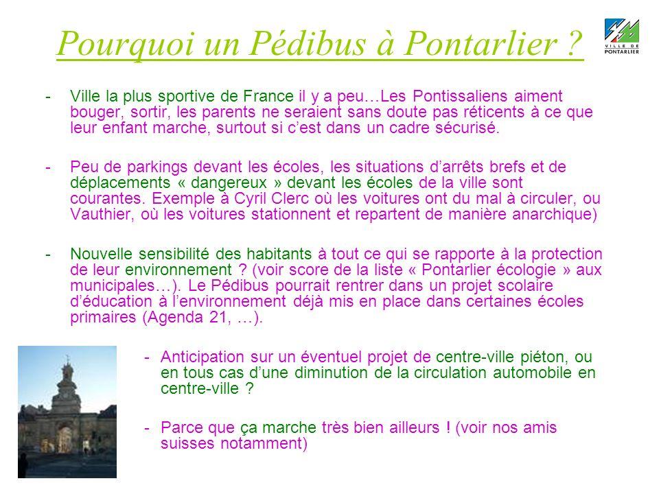 Pourquoi un Pédibus à Pontarlier .