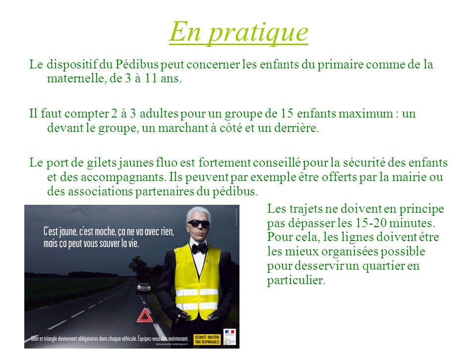 Les villes qui lont testé -Angers (http://www.angersloiremetropole.fr/index.php?id=6032 )http://www.angersloiremetropole.fr/index.php?id=6032 -Lyon et le Grand Lyon (http://www.grandlyon.com/Pedibus-en-marche- vers-l-ecole.1274.0.html )http://www.grandlyon.com/Pedibus-en-marche- vers-l-ecole.1274.0.html -Caen -Rennes (http://www.rennes.fr/index.php?id=747 )http://www.rennes.fr/index.php?id=747 -Saint-Etienne -Valence -Versailles -Brest (http://www.mairie-brest.fr/cub/pedibus.htm)http://www.mairie-brest.fr/cub/pedibus.htm -Toulouse (http://www.agenda21-toulouse.org/?2007/09/20/245-tout- savoir-pour-creer-un-pedibus-dans-votre-ecole )http://www.agenda21-toulouse.org/?2007/09/20/245-tout- savoir-pour-creer-un-pedibus-dans-votre-ecole -Lausanne (http://www.lausanne.ch/view.asp?DomID=62940 )http://www.lausanne.ch/view.asp?DomID=62940 -Lille (http://www.mairie-lille.fr/fr/Education_-_Enseignement/Pedibus )http://www.mairie-lille.fr/fr/Education_-_Enseignement/Pedibus -Besançon -Saône Etc, etc ………..