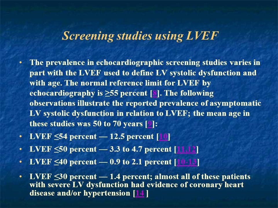 Hall AS et al.Lancet 1997;349:1493-7. Swedberg K et al.