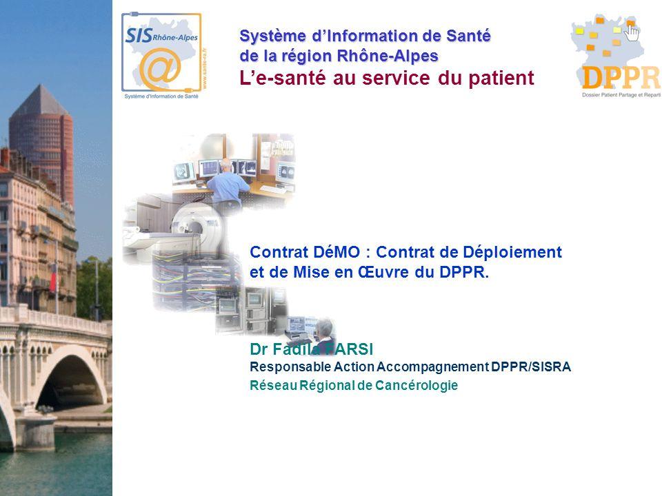Contrat DéMO : Contrat de Déploiement et de Mise en Œuvre du DPPR.