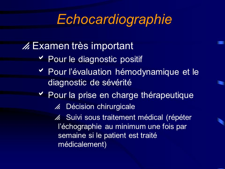 Végétations mitrale et aortique