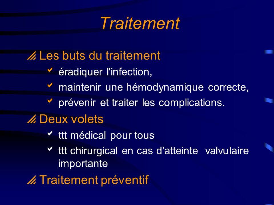 Traitement antibiotique
