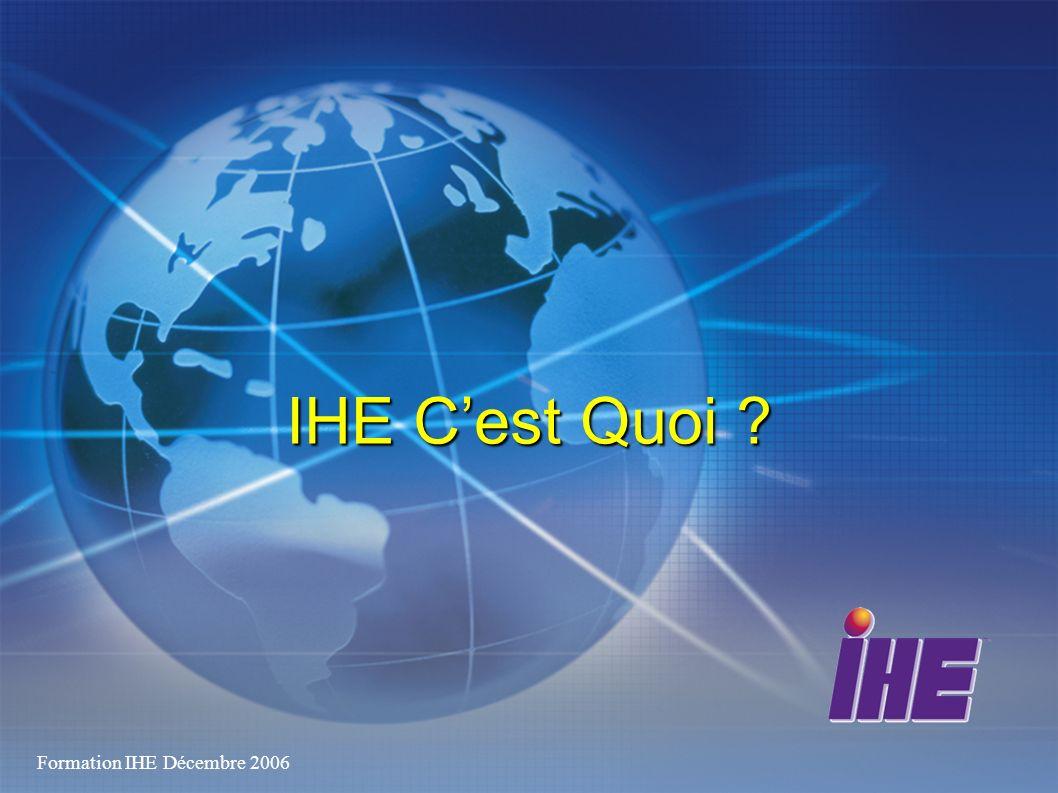 13 Organisation IHE-F Pas de structure légale Contrairement à IHE-D, IHE-NL et IHE-E Comme IHE-Europe Garanties fournies par les sponsors