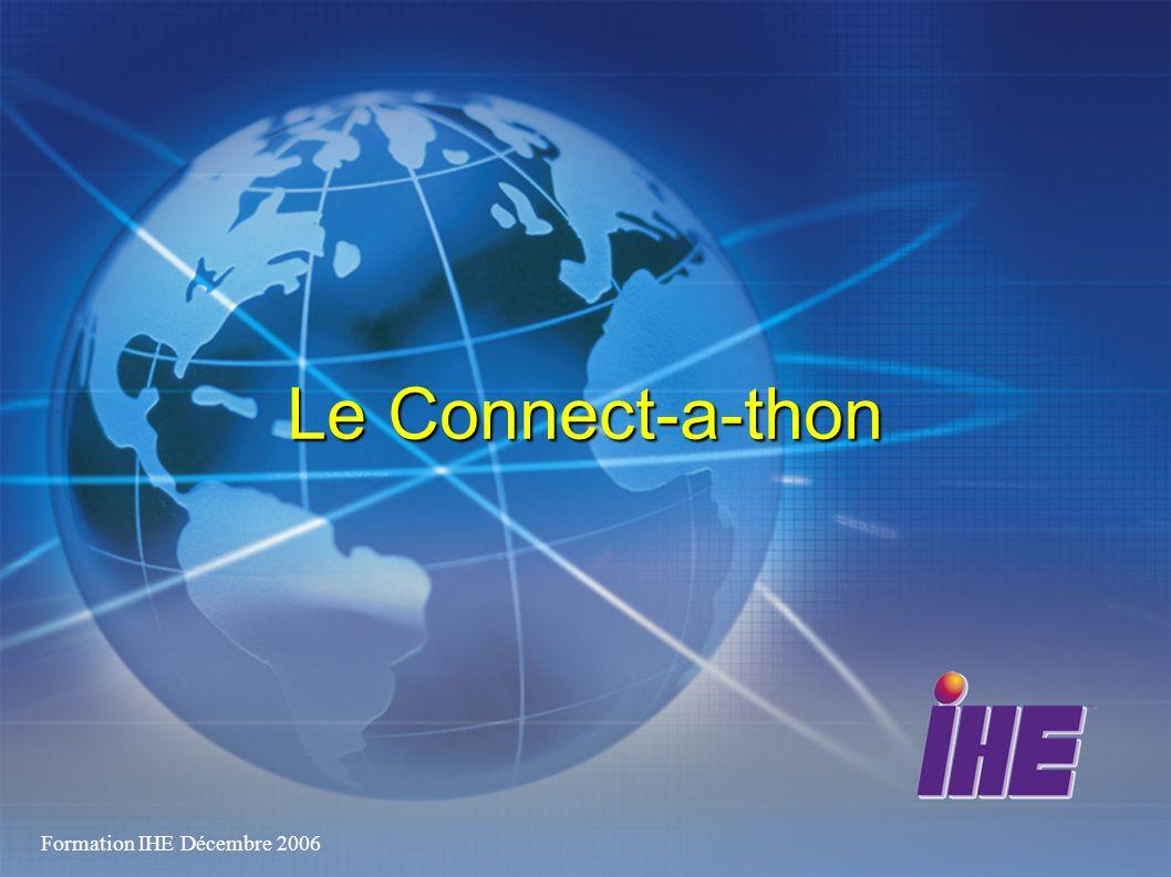 Formation IHE Décembre 2006 Le Connect-a-thon