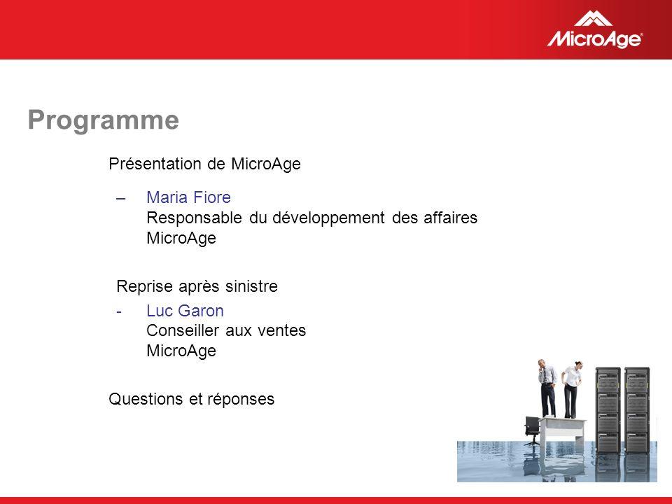 © 2006 MicroAge Troisième solution : Planification de continuité des affaires