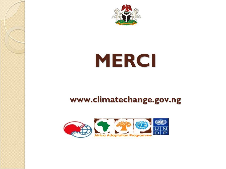 MERCI www.climatechange.gov.ng