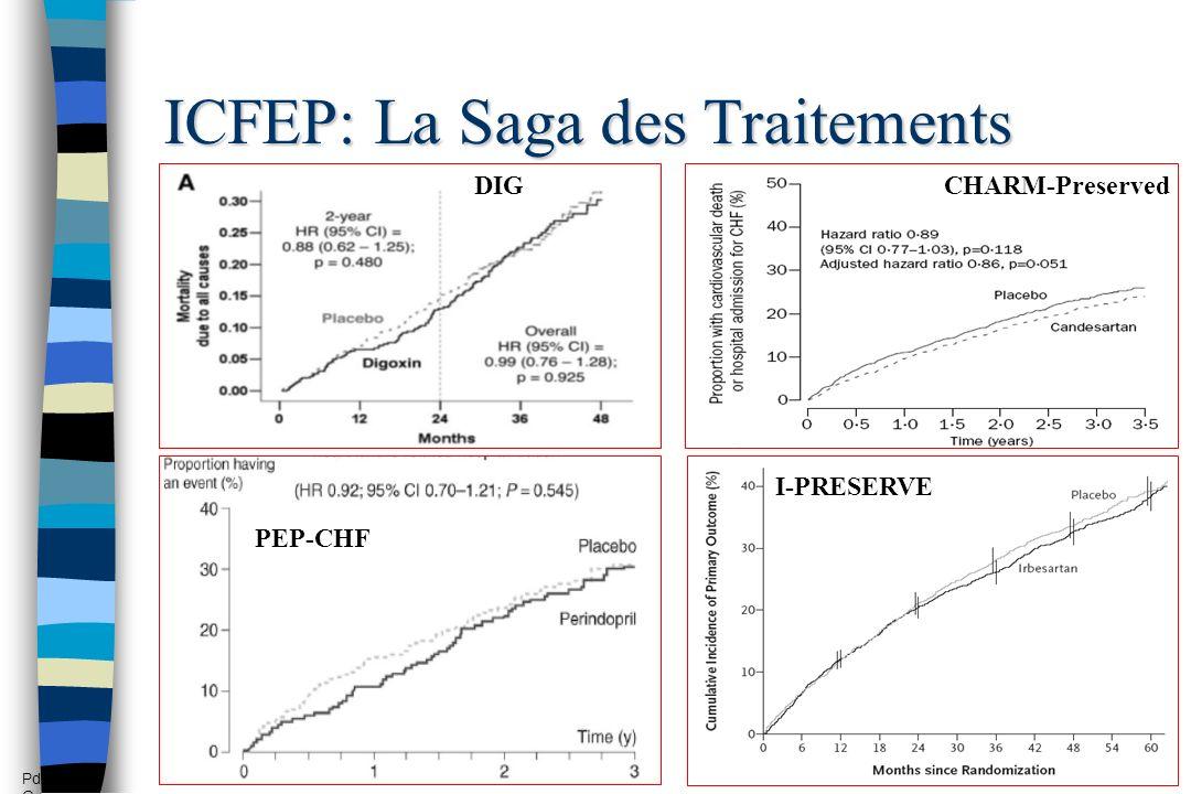 ICFEP: La Saga des Traitements PEP-CHF I-PRESERVE DIGCHARM-Preserved Pd G