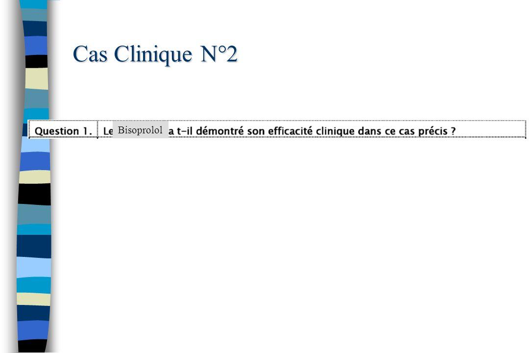 Cas Clinique N°2 Bisoprolol