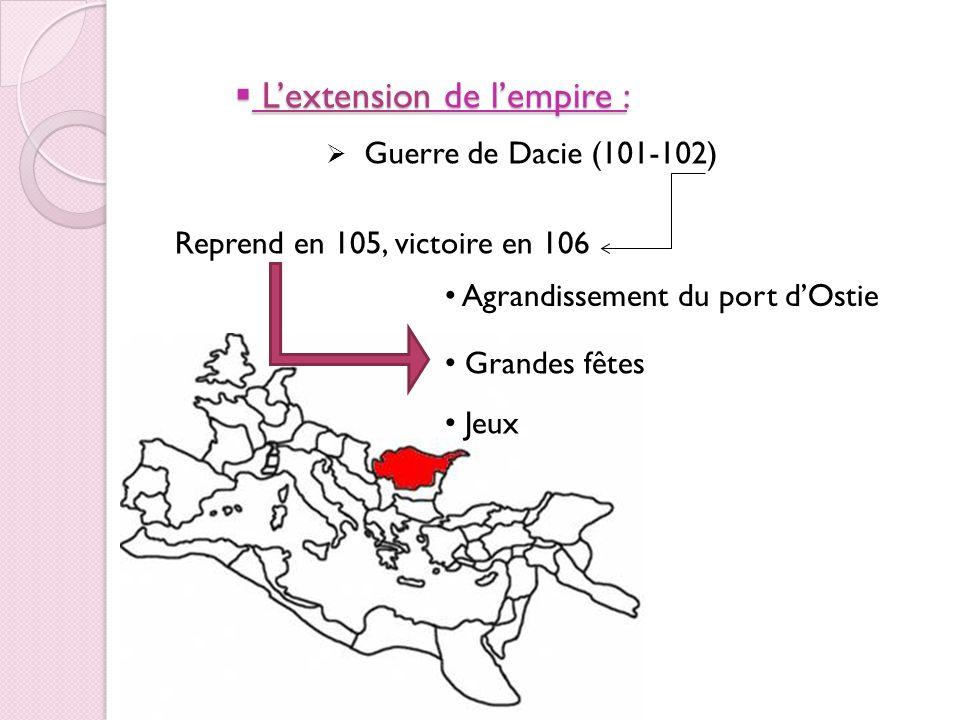Occupation du territoire des Arabes Nabatéen (106)