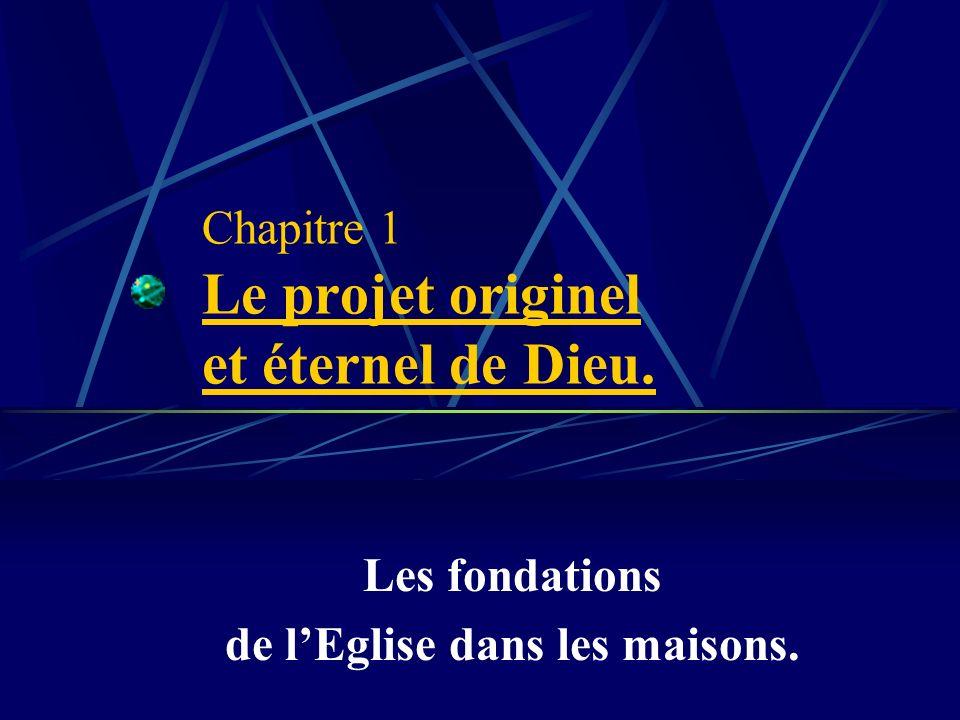 1ère partie : Les fondements spirituels de léglise dans la vision cellulaire.